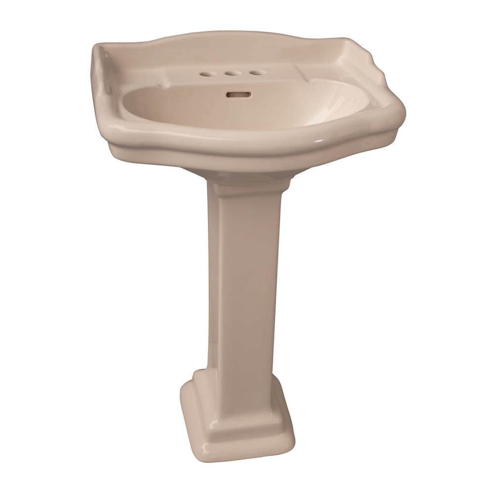 Barclay Complete Pedestal Bathroom Sinks item 3-864BQ