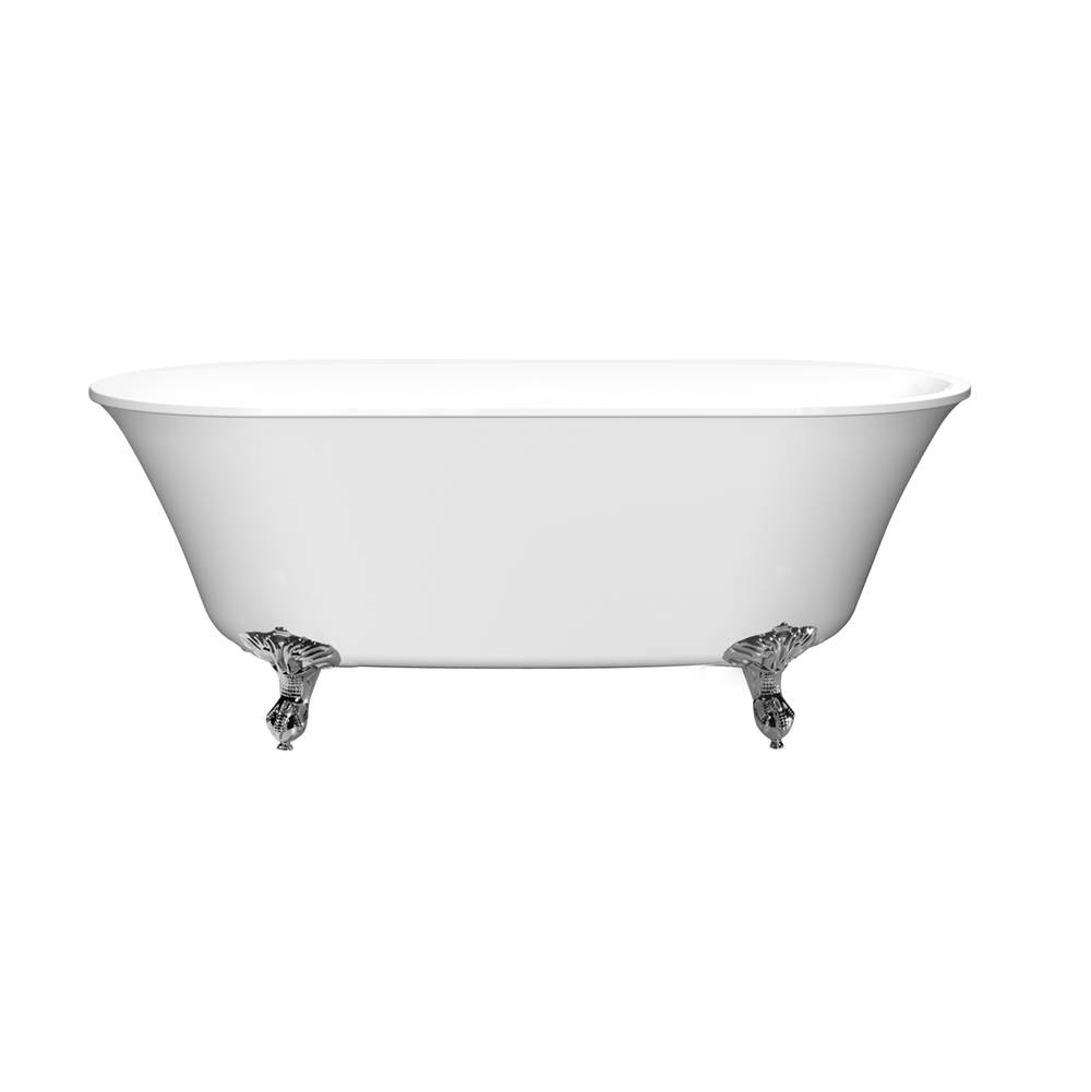 Barclay Free Standing Soaking Tubs item ATDN63I-WH-ORB
