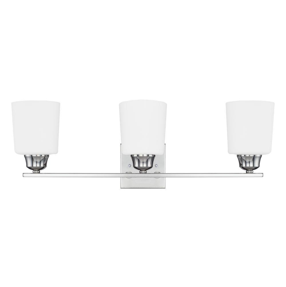 Capital Lighting Three Light Vanity Bathroom Lights item 115331PN-339