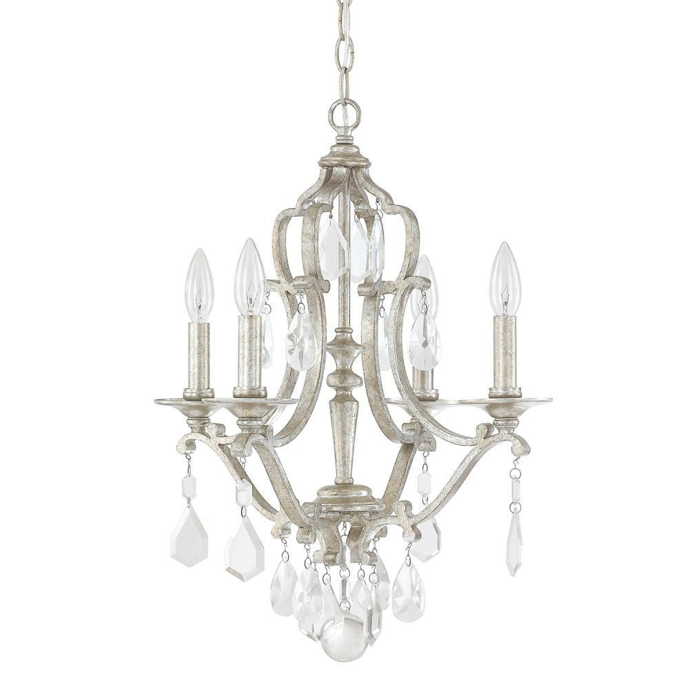 Capital Lighting Mini Chandeliers Chandeliers item 4184AS-CR