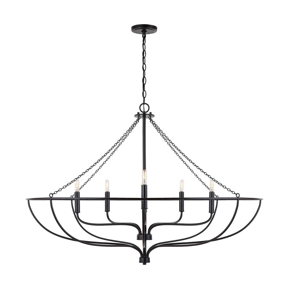 Capital Lighting Cage Chandeliers Chandeliers item 433261MB