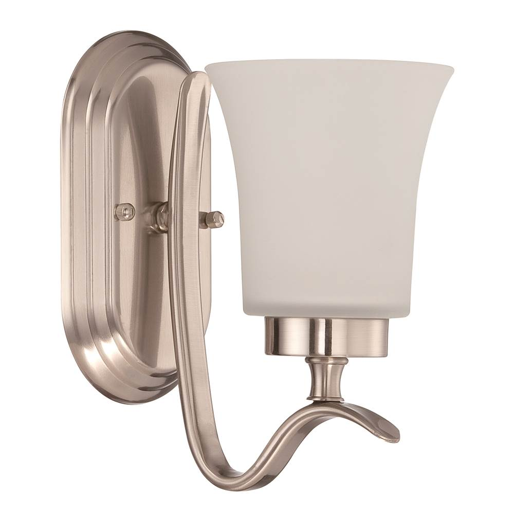 Craftmade One Light Vanity Bathroom Lights item 38301-SN