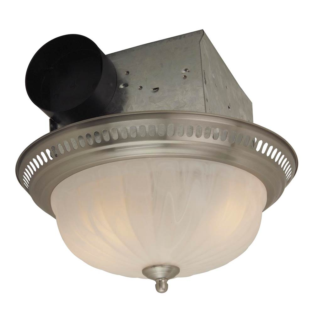 Craftmade With Light Bath Exhaust Fans item TFV70L-DSS