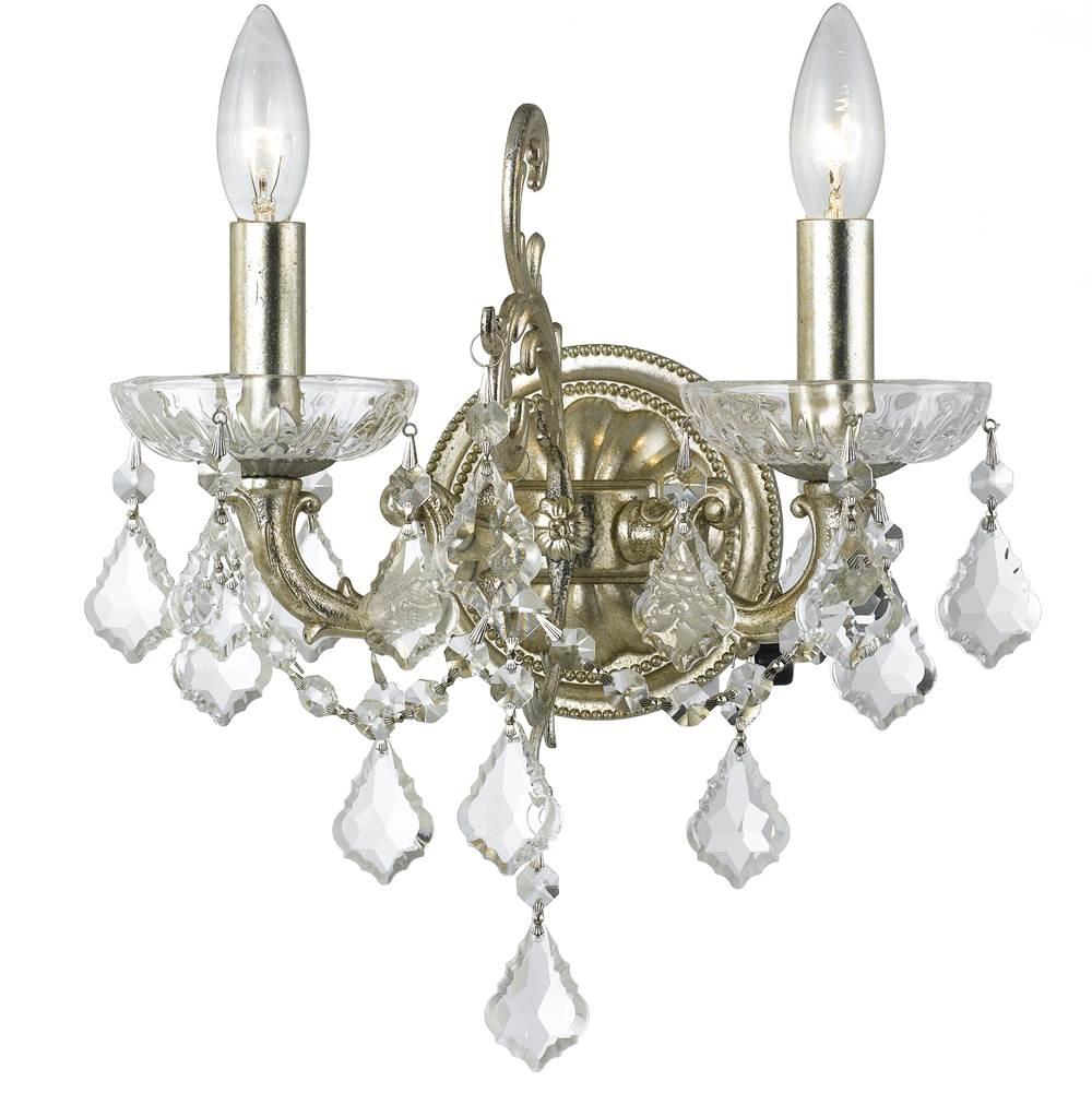 Crystorama Sconce Wall Lights item 5282-OS-CL-S