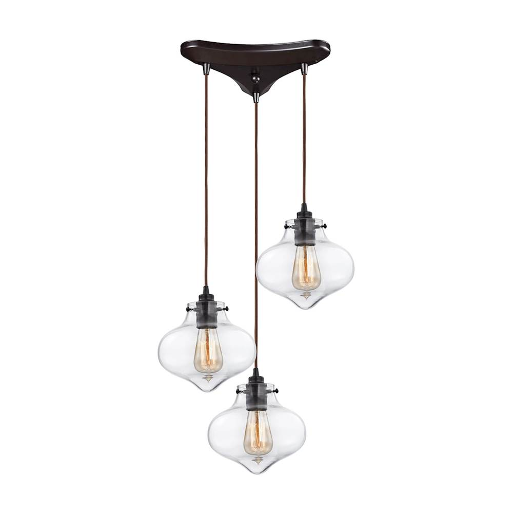 Elk Lighting Multi Point Pendants Pendant Lighting item 31954/3