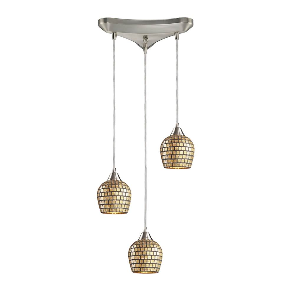 Elk Lighting Multi Point Pendants Pendant Lighting item 528-3GLD