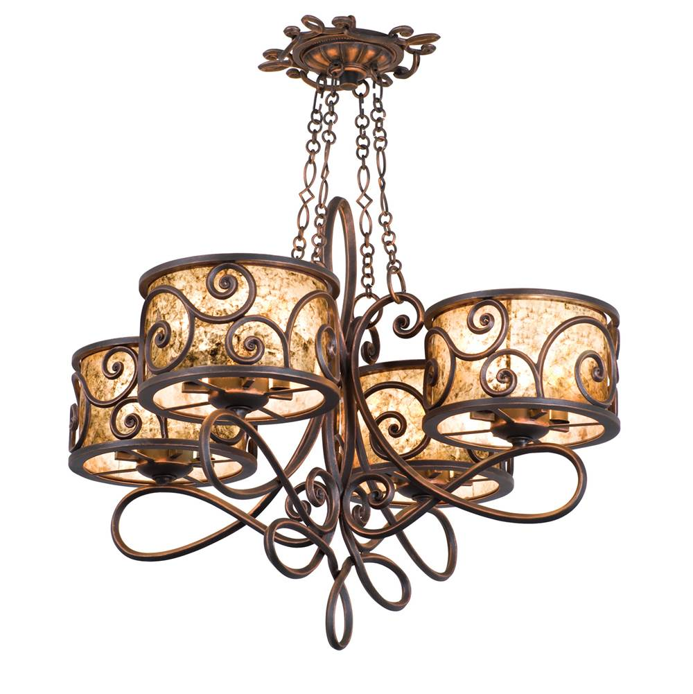 Kalco Lighting Single Tier Chandeliers item 5414SV
