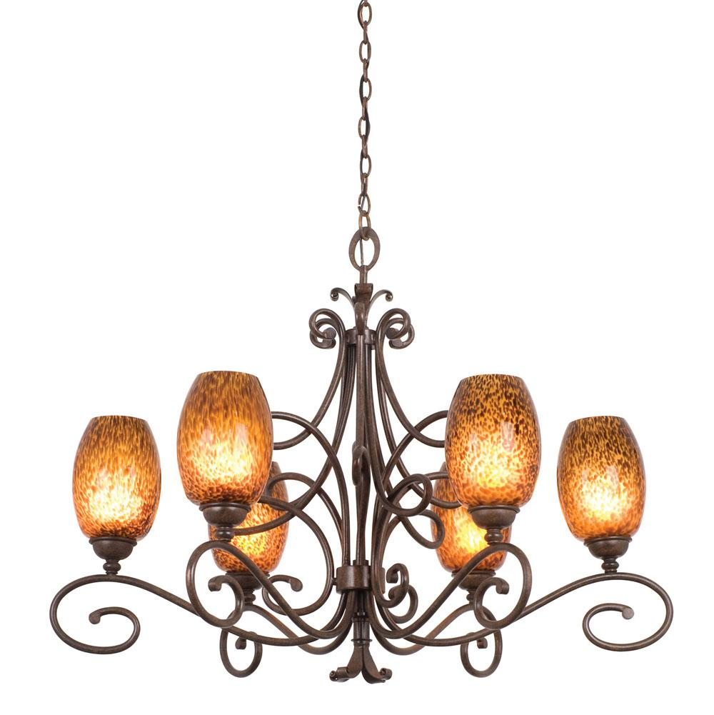 Kalco Lighting Single Tier Chandeliers item 5534AC/1404