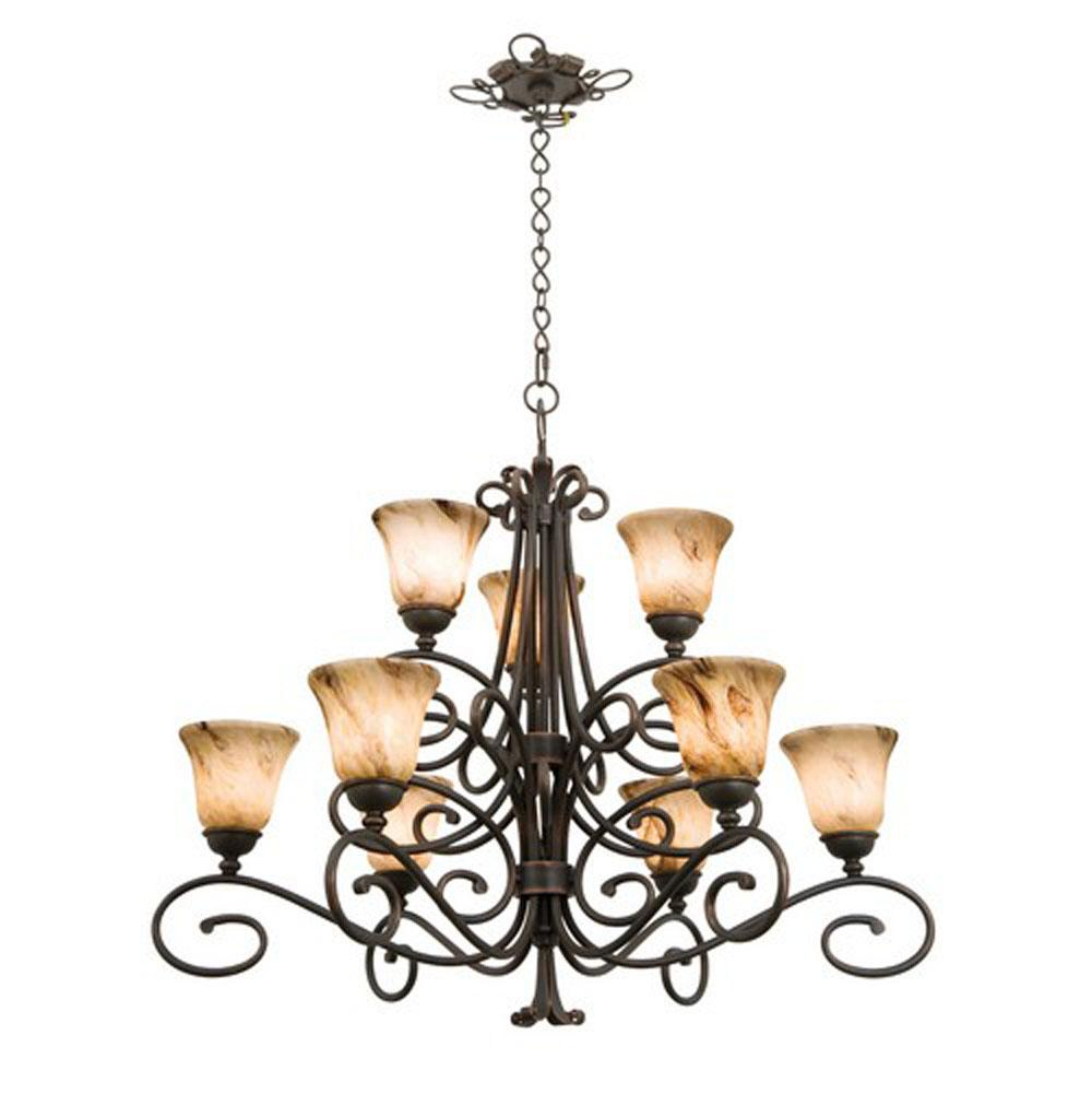 Kalco Lighting Multi Tier Chandeliers item 5535AC/1209