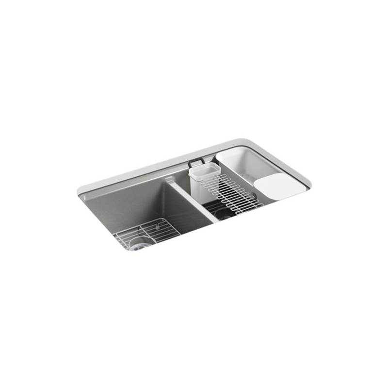 Kohler Undermount Kitchen Sinks item 8679-5UA3-FT