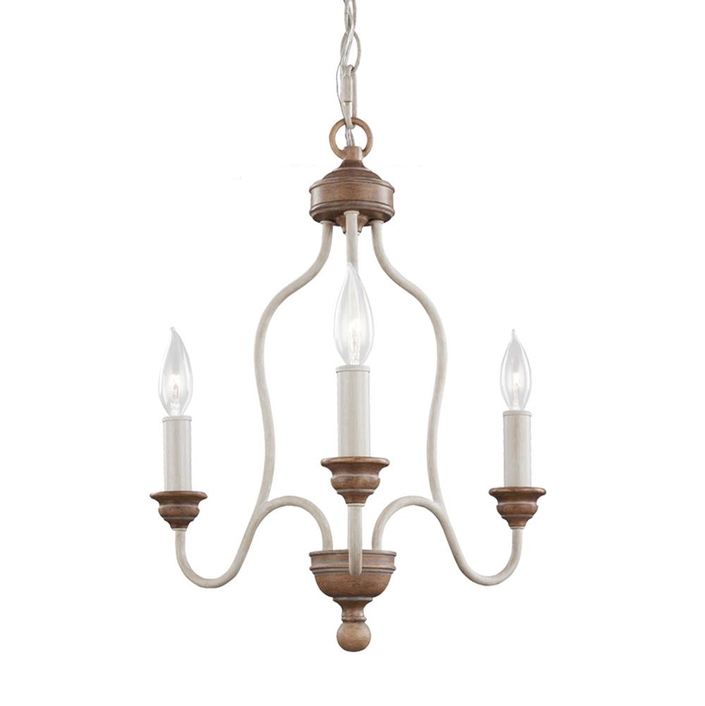 Feiss Lighting Mini Chandeliers Chandeliers item F2997/3CHKW/BW