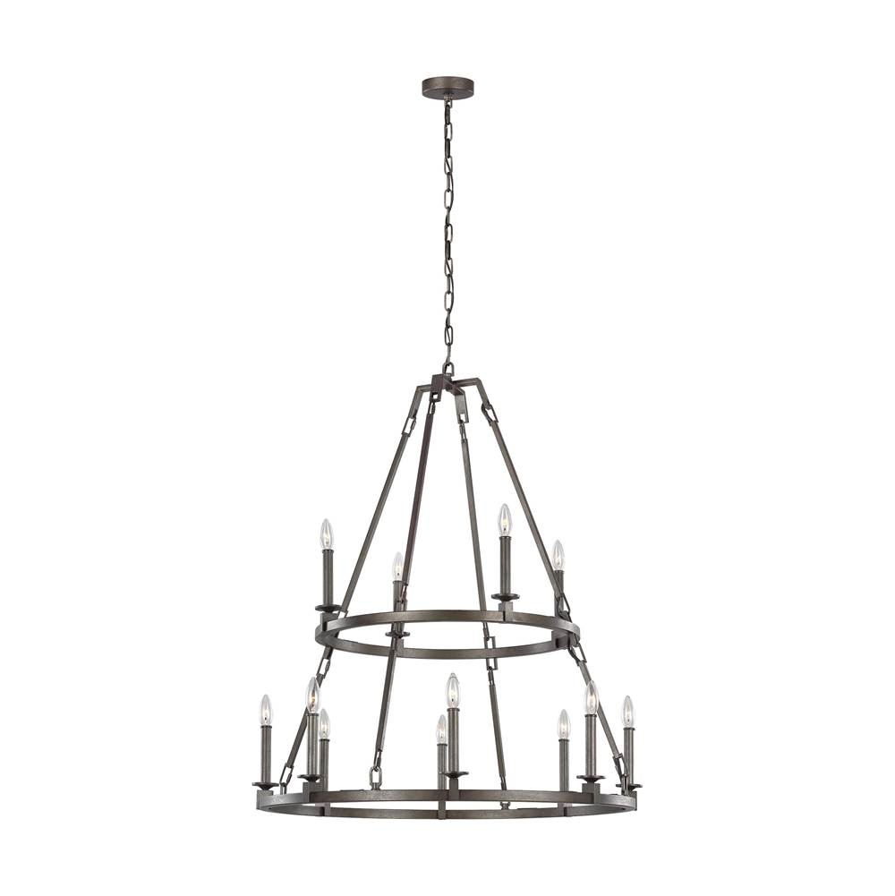 Feiss Lighting Multi Tier Chandeliers item F3215/12SMS