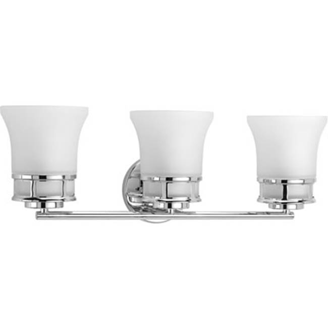 Progress Lighting Three Light Vanity Bathroom Lights item P2148-15