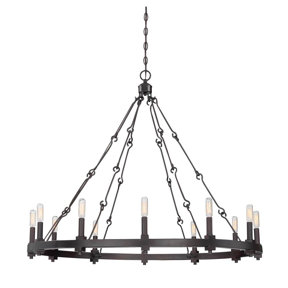 Savoy House Single Tier Chandeliers item 1-931-12-13