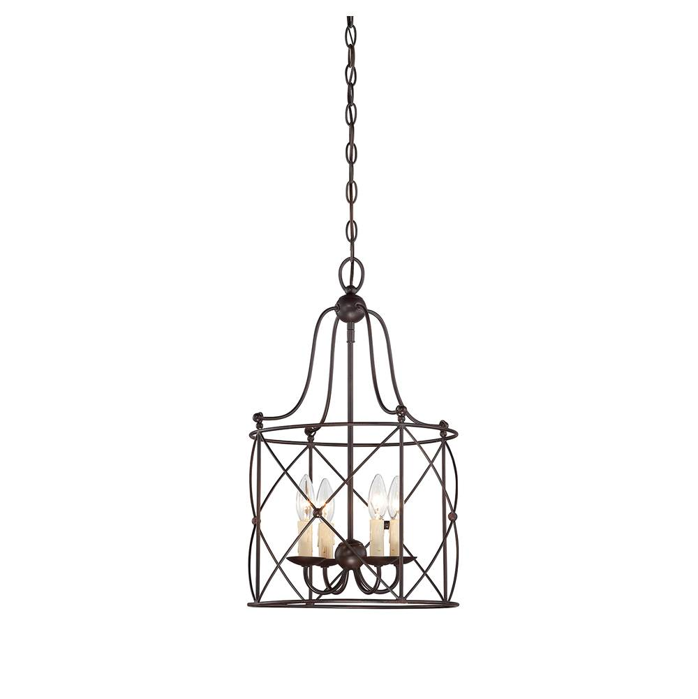 Savoy House Cage Chandeliers Chandeliers item 3-4070-4-13