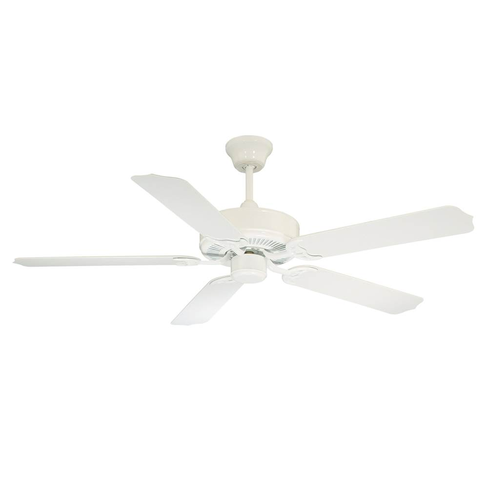 Savoy House Outdoor Ceiling Fans Ceiling Fans item 52-EOF-5W-WH